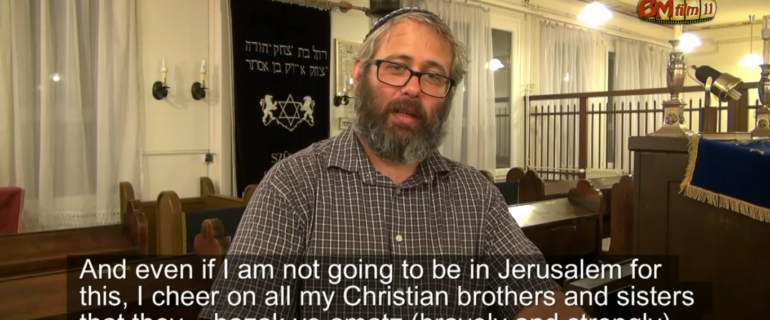 Węgierski rabin ortodoksyjny wspiera wizję TJCII